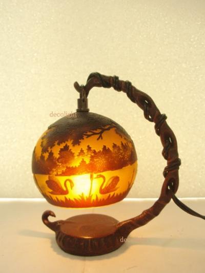 ミニガレランプ風景|手のひらサイズ